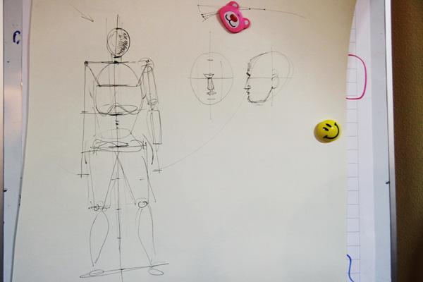 Мастер класс как рисовать людей