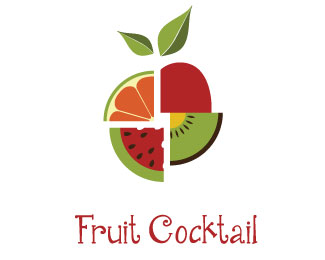 40 Creative Fruit Logo Design examples for Inspiration