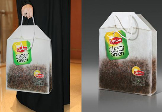 Креативный дизайн пакета